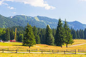 View from Postavarul Massif, Poiana Brasov, Romania  — Stock Photo
