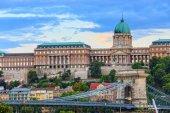 Royal Palace, Budapest — Stock Photo