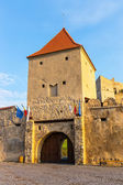 Rupea Castle near Brasov, medieval fortress — Stock Photo