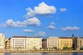 Budapest and Danube river panoramic view, Hungary, Europe  — Stock Photo