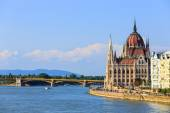 Hungarian Parliament Building in Budapest — ストック写真