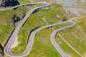 Transfagarasan bergweg, roemeense karpaten — Stockfoto