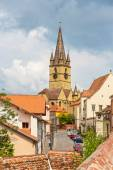 Lutheran Cathedral, Sibiu city, Romania — Stock Photo