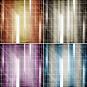 Set of abstract color backgrounds — Stock Photo
