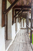 Fortified church in Prejmer, Romania. — Stock Photo
