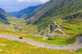 Transfagarasan dağ yolu, romen karpatlar — Stok fotoğraf