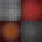 Set of Metal mesh texture background  — Stock Photo #54539477
