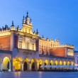 Market Square at night, Poland, Krakow. — Stock Photo #54539839