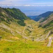 Transfagarasan mountain road, Romanian Carpathians — Stock Photo #55475971