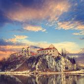 Benedictine monastery in Tyniec near Cracow, Poland — Stock Photo