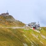 Zakopane, POLAND - September 13: Group of tourists walk to the top of the Kasprowy Wierch in Tatra Mountains on September 13, 2014 in Tatra Mountains, Poland.  — Stock Photo #57731441
