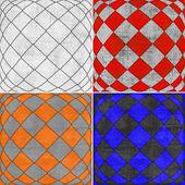 Geometric grunge backgrounds  — Stock Photo