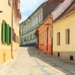 Old Town in the historical center of Sibiu, Romania — Stock Photo #62001131
