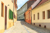 Old Town in the historical center of Sibiu, Romania — Stock Photo