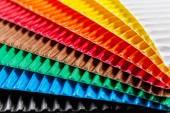 Colorful cardboard texture — Stockfoto