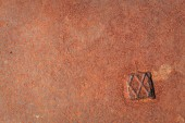 Corroded metal background, texture — Stock Photo