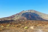 Pico Viejo, El Teide National Park, Tenerife, Canary Islands, Sp — Stock Photo