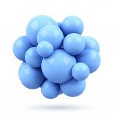 3 d 分子 — ストック写真