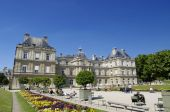 Luxemburg palace in Paris  — Stock Photo