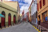 Vallehermoso, la gomera, canarische eilanden, spanje — Stockfoto