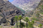 La Gomera, surrounding of Fortaleza de Chipude, Canary Islands, Spain. — Stock Photo