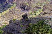 La Gomera island. The Valle Gran Rey, Canary, Spain — Stock Photo