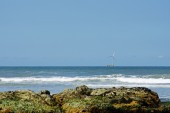 Parque Natural do Litoral on the north of Portugal in the vicini — Stock Photo