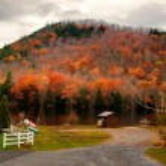 Oxbow Lake in the Adirondack Mountains — Stock Photo #56835393