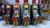 Slot machines — Stock Photo