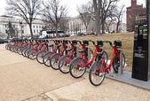 .Capitol Bikeshare — Stock Photo