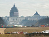 Capitol and Library of Congress — Foto de Stock