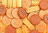 Pastry, biscuits and cookies — Stock Photo