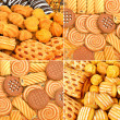 Shortbread, puffs and cookies — Stock Photo #55413515