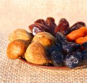 Dried fruit, dates, figs, prunes, apricots  — Photo