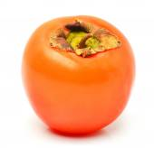 Ripe persimmon fruit isolated  — Photo