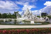 Wat Rong Khun View, Chiang Rai Thailand — Stock Photo