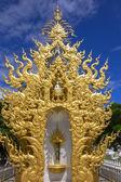 White Buddha. Wat Rong Khun, Chiang Rai Thailand — Stock Photo