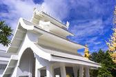 Wat Rong Khun Facilities — Stock Photo