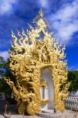 Wat Rong Khun, Architectural Details. — Photo