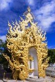 Wat Rong Khun, Architectural Details. — Stock Photo