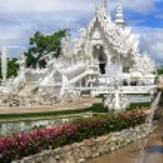 Wat Rong Khun Fountains — Stock Photo #52305029
