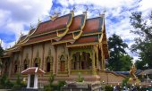 Wat Sriboonruang, Chiang Rai, Thailand — Stock Photo