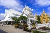 Wat Rong Khun Area. — Stock Photo