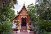 Ubosoth at Wat Phra Kaew, Chiang Rai — Stock Photo
