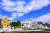 Wat Rong Khun, Panorama. — Stockfoto