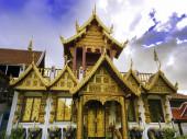 Watklangwiang Area, Chiang Rai, Thailand — 图库照片