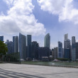 Singapore Skyscrapers and Marina Bay Panorama. — Stock Photo #53596397