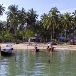 Boats near Koh Mook Island Pier. — Stock Photo #63440145