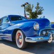 Постер, плакат: Blue 1947 Buick Super classic car