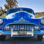 Blue 1947 Buick Super classic car — Stock Photo #57790363